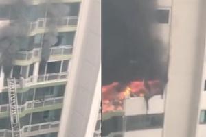 """군포 아파트 화재, 4명 사망... """"리모델링 공사 중 '펑' 소리""""…"""