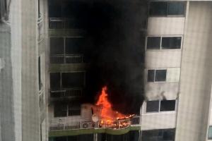 군포 아파트서 화재 이웃 주민 2명도 참변