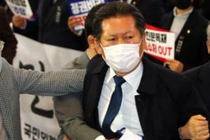 """정청래 법사위원장에 진중권 """"콘크리트 지지층 무너질것""""(종합)"""