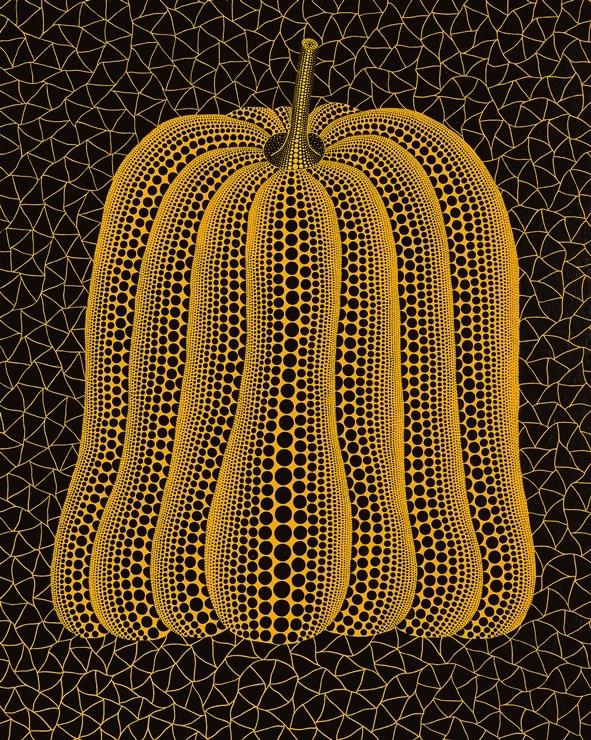구사마 야요이 'Pumpkin'(2005). 서울옥션 제공