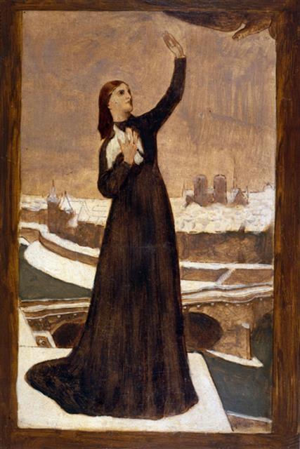 피에르 퓌비 드 샤반 '비둘기', 1870~1871년 (46.2×31.4㎝, 카르나발레 역사박물관, 프랑스 파리)