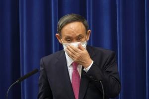 日스가 지지율 30% 붕괴 초읽기…마이니치 33% '정권유지 위험수위…