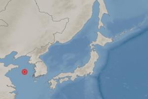 """""""자는데 침대 흔들려"""" 중국 칭다오 동쪽 해상 규모 4.6 지진에 신…"""