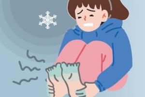 꽁꽁 언 손·발, 비비거나 마사지 말고 따뜻한 손 얹어주세요