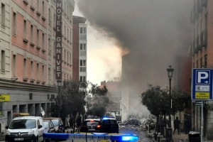 스페인 수도 마드리드 도심서 큰 폭발음…부상자 발생