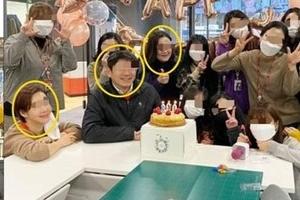"""""""태국 국왕인줄"""" TV조선 노마스크 생일파티 논란"""