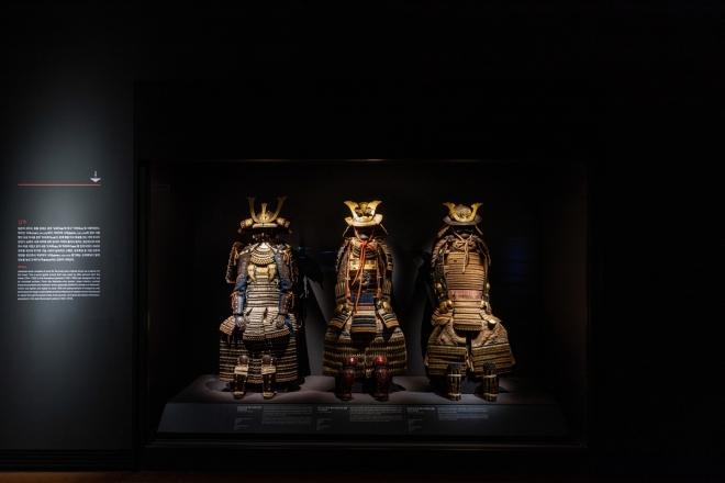 국립중앙박물관 세계문화관 내 일본실.