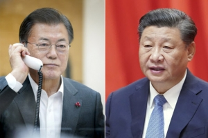 """시진핑, 文에""""비핵화 적극 지지…한국 백신 접종 중요 역할…"""