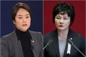 """""""참고 넘기지 않을 생각"""" 고민정, '후궁 발언' 조수진 고소(종…"""