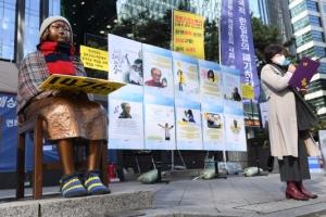 故 김복동 할머니 타계 2주기 하루 앞둔 제1476차 수요시위