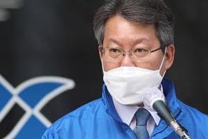 """변성완, 출마 선언 """"부산시정 9개월 이끌어…초보에 못 맡긴다"""""""