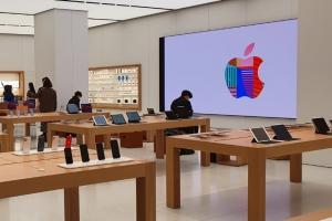 여의도에서도 '애플 갬성'…'국내 2호' 애플스토어 가보니