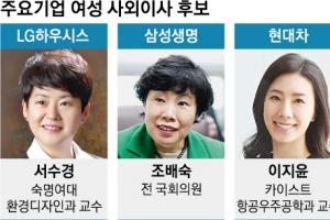 """자본시장법 앞둔 재계 """"여성 사외이사 모셔라"""""""
