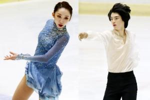 전국남녀 피겨 선수권대회 우승자 '차준환·김예림'