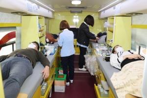 지방자치인재개발원 직원들 단체 헌혈