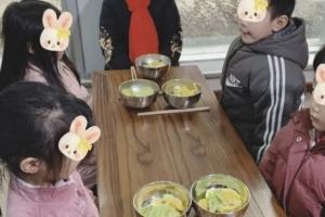 중국 유치원, 아이들에 채식 먹였다가 분노 사자 고기급식 제공