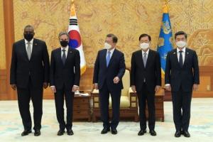 美, 쿼드·北인권 성명서 뺐지만 노골적 中때리기… 난제 여전한 韓