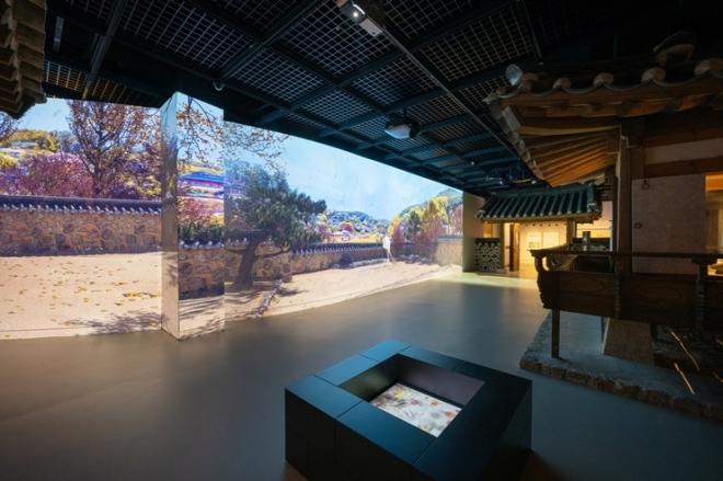 상설전시관2 '한국인의 일 년' 실감형 전시 전경. 국립민속박물관 제공
