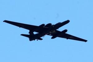 [포토] 오산기지 상공 비행하는 고공정찰기 'U-2S'