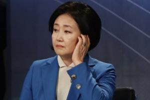 [서울포토] 토론회 준비하는 박영선 후보