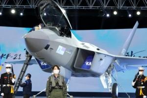 [포토] 한국형전투기 'KF-21 보라매'의 위용