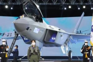 [서울포토] 한국형전투기 'KF-21 보라매'의 위용