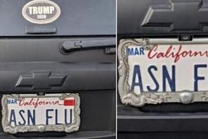증오범죄 판치는데 캘리포니아 차량의 이 번호판 괜찮은 걸까