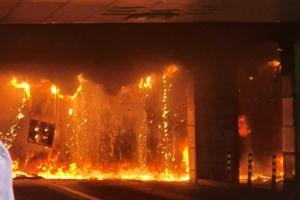 남양주 다산동 주상복합건물 화재…큰불 끄고 잔불 진화중(종합)