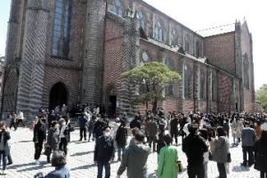 '코로나 직격탄' 천주교 신자, 70년 만에 최저 증가