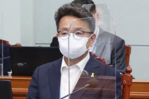 [서울포토] 이철희 정무수석, 수석·보좌관회의 첫 참석