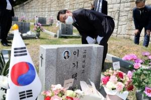 野 원내대표 경선 '초심' 잡기 올인