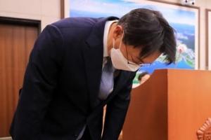 """[포토] 김현준 LH 사장 """"큰 실망과 심려 끼쳐 깊이 사죄"""""""
