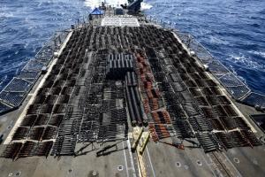 美 해군, 예멘 밀반입 추정 무기 수천정 압수