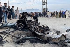 美 철군 시작하자마자… 아프간 학교 앞 차량 폭탄 테러