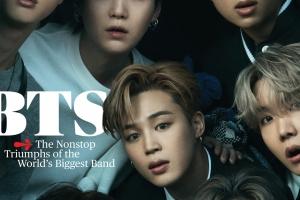 롤링스톤 표지 장식한 BTS…아시아인 그룹은 54년 만에 처음