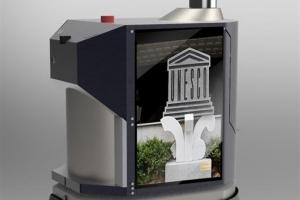 LG유플러스 인공지능 로봇 5·18센터 방역·안전 지킴이로