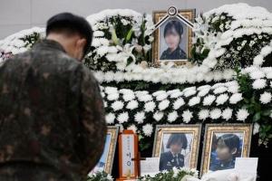 '성추행 피해 女중사 신상유포' 15비행단 관련자 명예훼손 검토