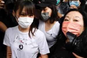 홍콩 민주화 상징 아그네스 차우 7개월 만에 왜 앞당겨 석방했을까