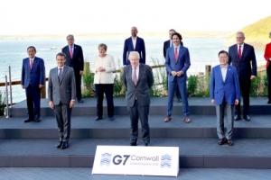 "G7, 중국에 '강경' 입장... ""신장 인권 존중·홍콩 자치권 허용…"