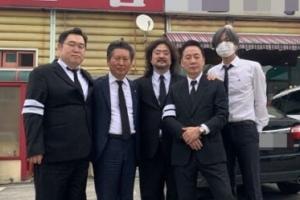 김어준 부친상…여권인사 근조기·조화 줄이어