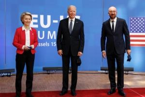 美, EU 만나서도 중국 정조준 … 때릴수록 中은 러와 더 밀착