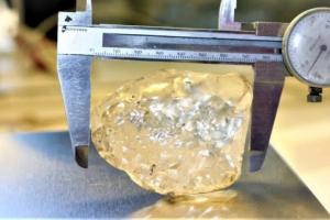 '세계 톱3' 1098캐럿 다이아몬드 원석