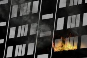 목포 15층짜리 아파트서 불…입주민 20여명 대피