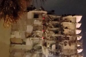 플로리다 12층 아파트 붕괴, 여성 한 명 사망, 사망자 늘 듯