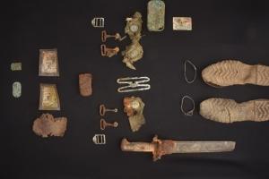 문화재청, 화살머리고지 한국전쟁 전사자 유품 보존 처리