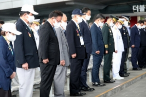 '1129일, 6·25전쟁 아픔 기억'… 피란수도 부산서 71주년 기념식…