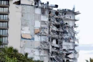 미국 플로리다 아파트 붕괴 현장