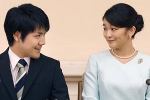"""""""돈 필요없다"""" 왕실 떠난 日마코…서류로만 진행한 '공주 결혼'"""