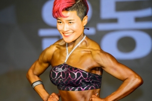개그우먼 김혜선, 대회 1위 자신감!