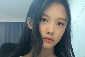 [포토] '이동국 딸' 재시, 깜짝 놀란 미모